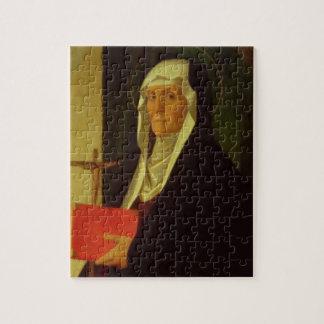 St. Clare, c.1485-90 (tempera on panel) Puzzles