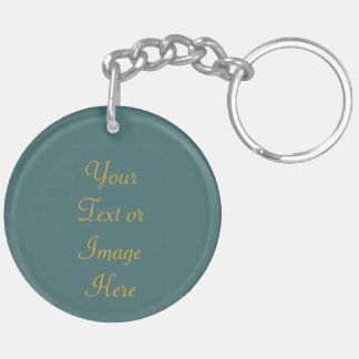St. Clare of Assisi (SAU 027) Blank or DIY Back Key Ring