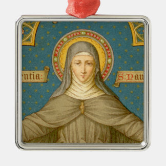 St. Clare of Assisi (SAU 27) Christmas Ornament