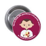 St. Claude La Colombiere 6 Cm Round Badge