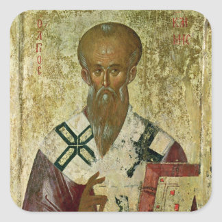 St. Clement, 14th-15th century Square Sticker