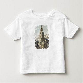 St. Clement Danes Church, pub. by Rudolph Ackerman Toddler T-Shirt