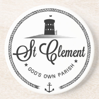 St Clement Jersey Coaster