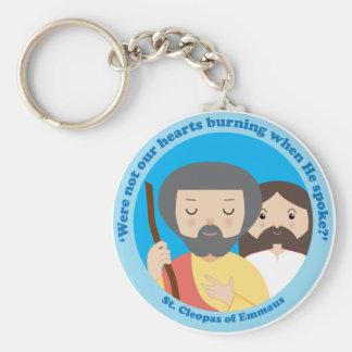St. Cleopas of Emmaus Basic Round Button Key Ring