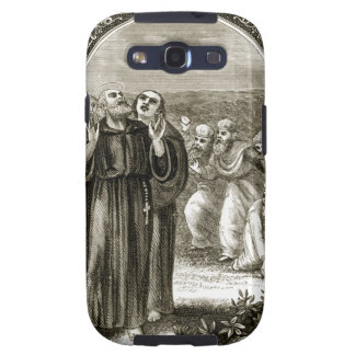 St. Columba chanting, and attacked by the Druids, Samsung Galaxy SIII Case