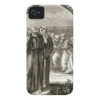 St. Columba chanting, and attacked by the Druids, iPhone 4 Cases