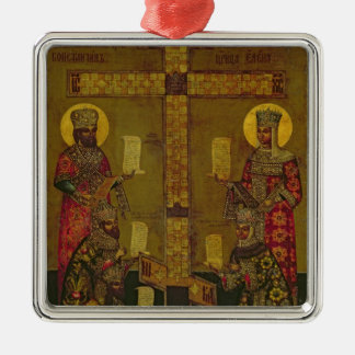 St. Constantine and St. Helena Christmas Ornament
