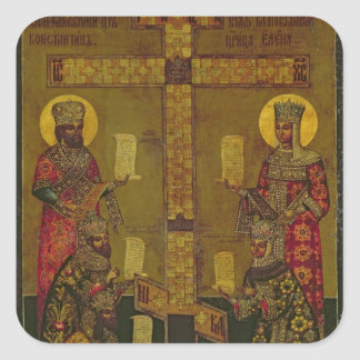 St. Constantine and St. Helena Square Sticker