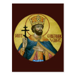 St. Constantine the Great Prayer Card Post Card