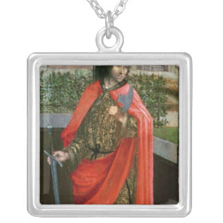 St. Crispin, 16th century Silver Plated Necklace