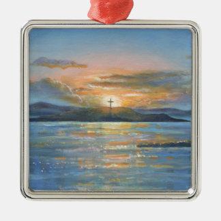 St.Cuthbert's Isle Christmas Ornament