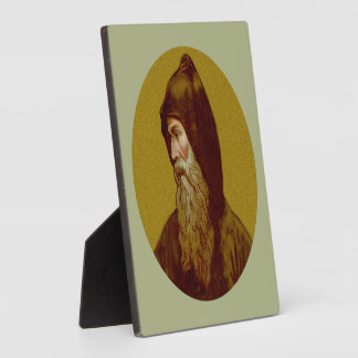 "St. Cyril the Monk (M 002) 5.25""x5.25"" Square Plaque"