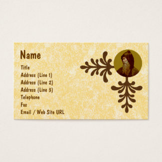 St. Cyril the Monk (M 002) Business Card