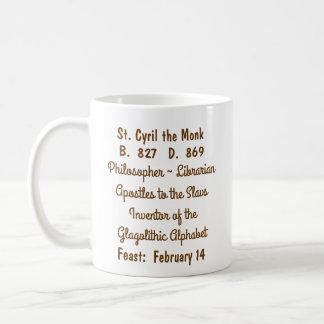 St. Cyril the Monk (M 002) Coffee Mug #1c