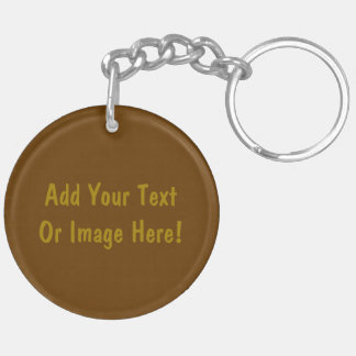 St. Cyril the Monk (M 002) Double-Sided Round Acrylic Key Ring
