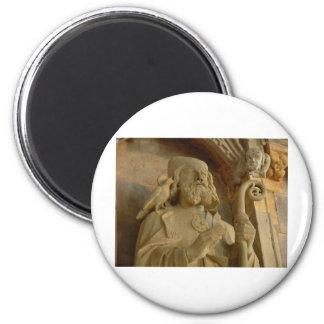 St David 6 Cm Round Magnet