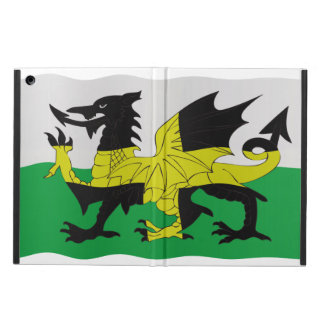 St David s and Welsh flags combined iPad Air Cover