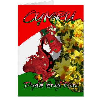 St David s Day Card St David s Day Dydd Gwyl De