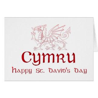 St David s Day Saint David Ddydd Gwyl Dewi Sant Cards