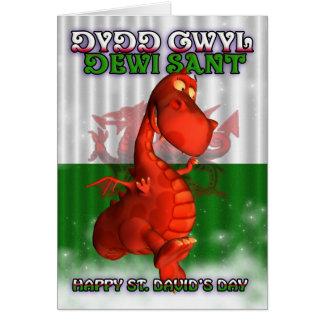 St David s Day Welsh Card Dydd Gwyl Dewi Sant
