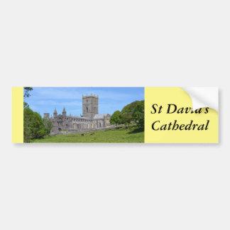 St David's Cathedral Bumper Sticker