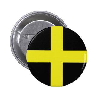 St. David's Day 6 Cm Round Badge