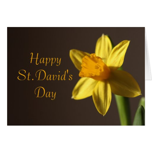 St. David's Day Card