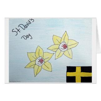 St David's Day Card 2nd Pl. WSCO