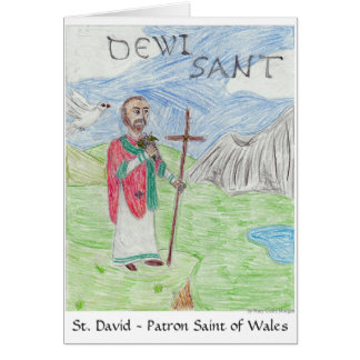 St David's Day Card 3rd Pl. WSCO