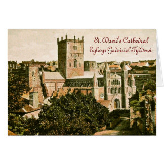 St. David's Day Greeting Greeting Card