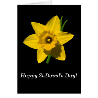 'St.David's Day' greetings card