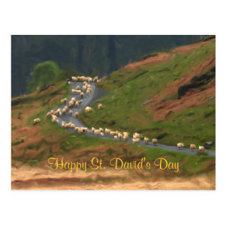 St. David's Day Postcard