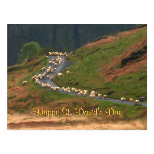 St. David's Day Postcard