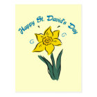 St. David's Day Tees, Gifts, Cards, Totes Postcard