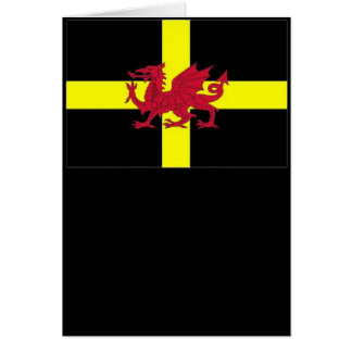 St Davids Day with Dragon Greeting Card