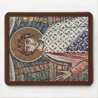 St. Demetrius By Meister Der Demetrius-Kirche In S Mouse Pad