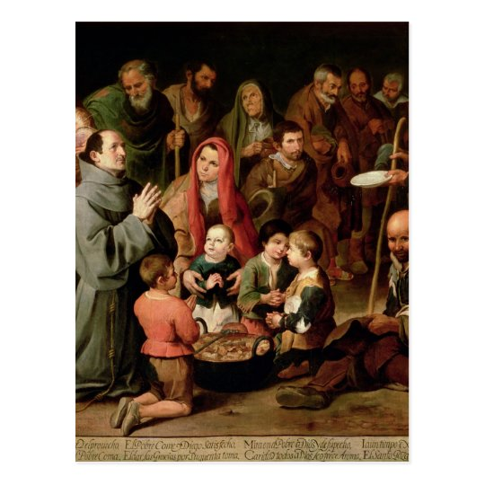 St. Diego of Alcala Giving Food to the