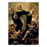 St. Dominic, 1170-1221 Greeting Card