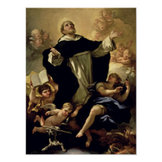 St. Dominic, 1170-1221 Poster