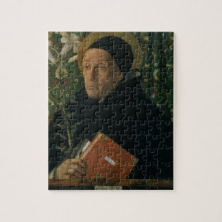 St. Dominic, 1515 (oil on canvas) Jigsaw Puzzle