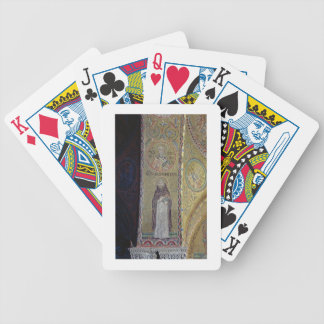 St. Dominic and St. Nicholas, mosaic in the atrium Bicycle Playing Cards