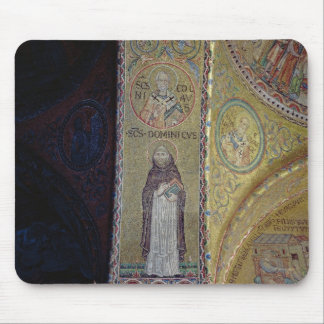 St. Dominic and St. Nicholas, mosaic in the atrium Mouse Mat