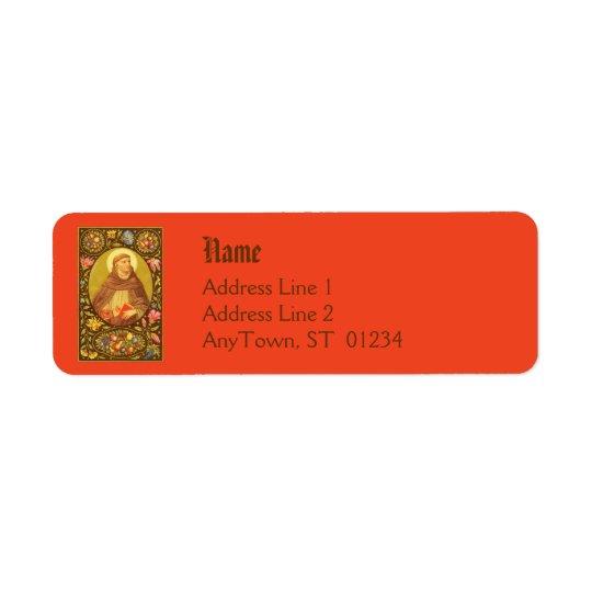 St. Dominic (PM 02) NB Return Address Label #1a