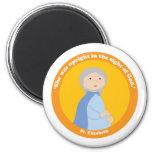 St. Elizabeth 6 Cm Round Magnet
