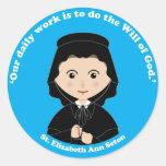 St. Elizabeth Ann Seton Round Sticker