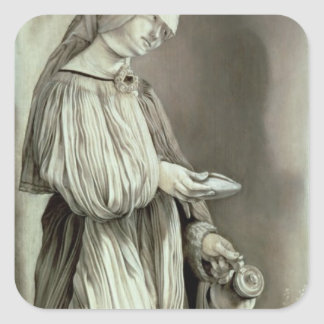 St. Elizabeth of Hungary  1509 Square Sticker
