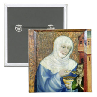 St. Elizabeth of Hungary 15 Cm Square Badge