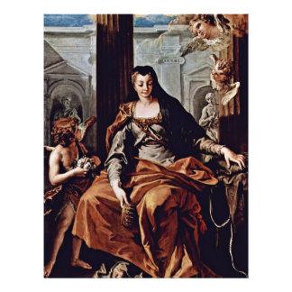 St. Elizabeth Of Hungary By Ricci Sebastiano Flyers