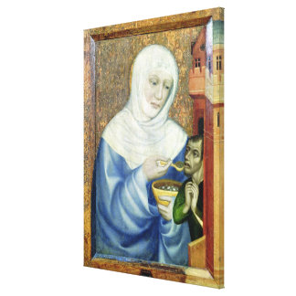 St. Elizabeth of Hungary Canvas Print