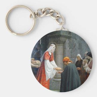 St. Elizabeth of Hungary Feeds the Poor Key Ring